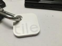 Tile on Keychain
